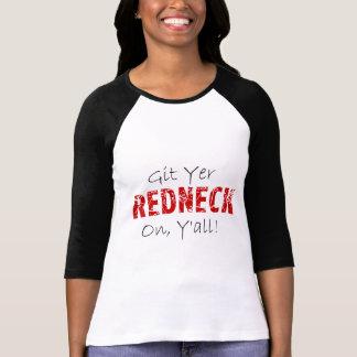 Git Yer Redneck On! T-Shirt