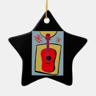 Gitarre Christmas Ornament