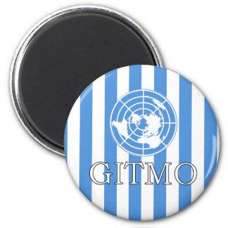 Gitmo Nation Flag Magnet