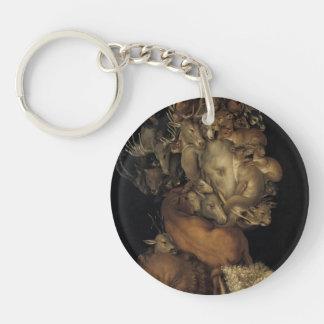 Giuseppe Arcimboldo- Earth Acrylic Key Chain