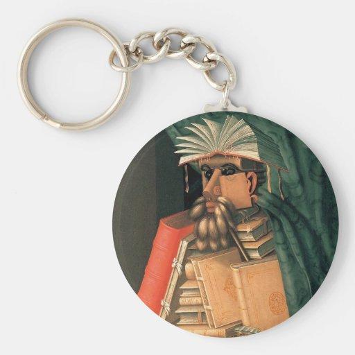 Giuseppe Arcimboldo's Librarian Key Chains