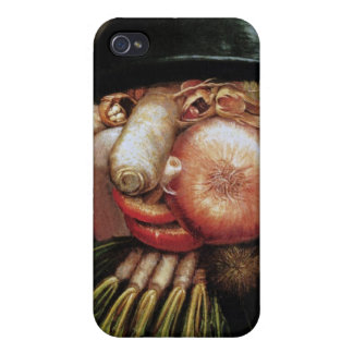 Giuseppe Arcimboldo - The Greengrocer iPhone 4 Cases