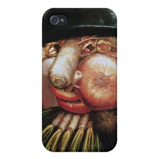 Giuseppe Arcimboldo - The Greengrocer iPhone 4/4S Covers