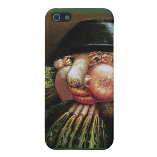 Giuseppe Arcimboldo - The Greengrocer Cover For iPhone 5/5S