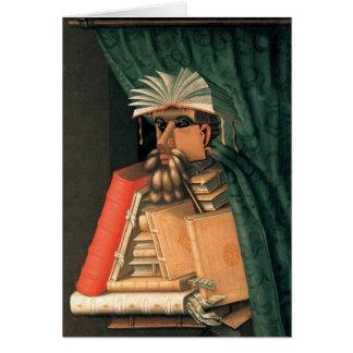 Giuseppe Arcimboldo - The Librarian Greeting Card