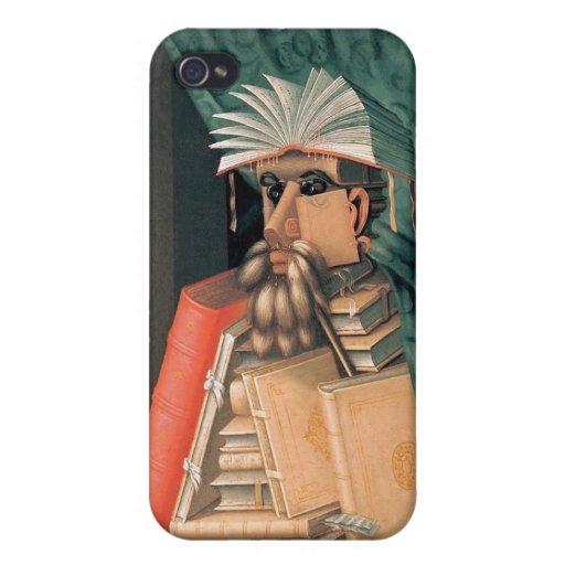 Giuseppe Arcimboldo - The Librarian iPhone 4 Cover