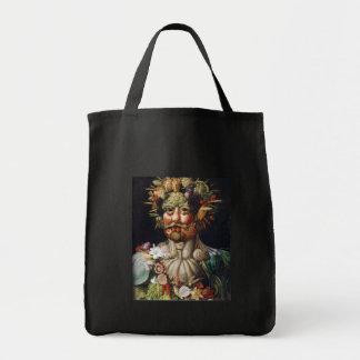 Giuseppe Arcimboldo Vegetable Man (Vertumnus) Tote Bags