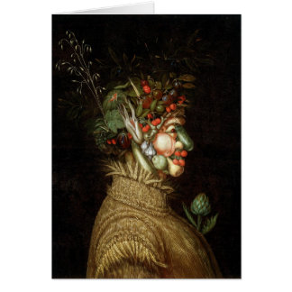 Giuseppe Arcimboldo's The Summer (1563) Greeting Card