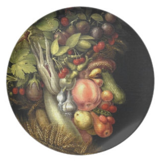 Giuseppe Arcimboldo's The Summer (1563) Plate