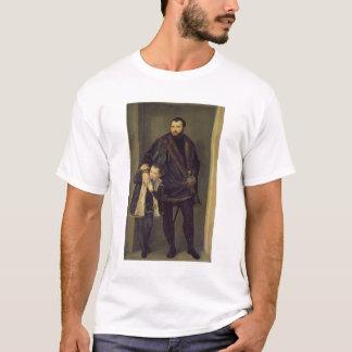 Giuseppe da Porto and his Son Adriano, c.1555 (oil T-Shirt