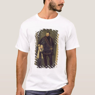 Giuseppe da Porto and his Son Adriano, c.1555 (oil T-Shirt