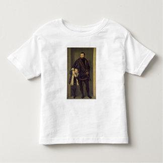 Giuseppe da Porto and his Son Adriano, c.1555 (oil Toddler T-Shirt