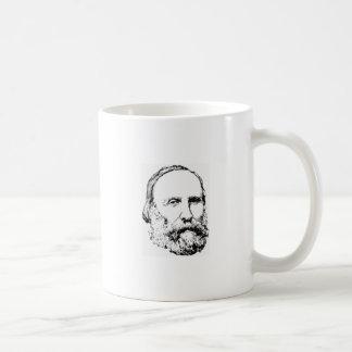Giuseppe Garibaldi Realistic Sketch Mug