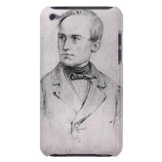 Giuseppe Mazzini (1805-72) 1830 (charcoal) (b/w ph iPod Case-Mate Cases