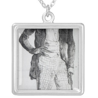 Giuseppe Mazzini Silver Plated Necklace