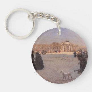Giuseppe Nittis- The Ruins of the Tuileries Acrylic Keychain