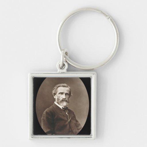 Giuseppe Verdi (1813-1901) from 'Galerie Contempor Keychain