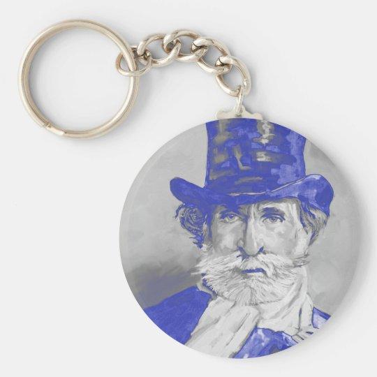 Giuseppe Verdi Key Ring