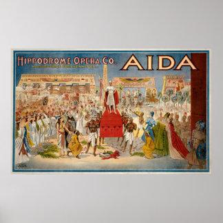 Giuseppe Verdi's Aida Poster