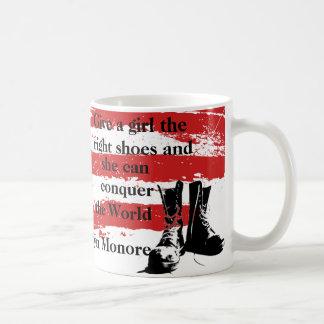 Give a girl the right shoes...mug coffee mug