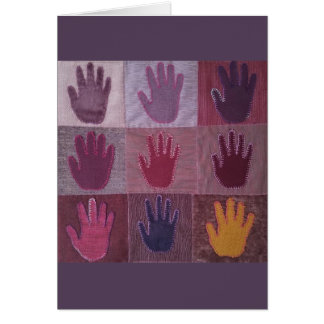 Give A Hand Quilt 2 Card