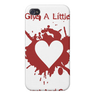 Give A Little iPhone 4 Cover