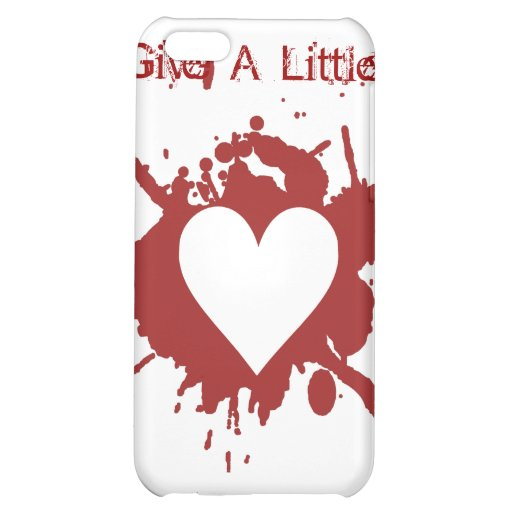 Give A Little Cover For iPhone 5C