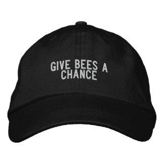 Give bees a chance baseball cap