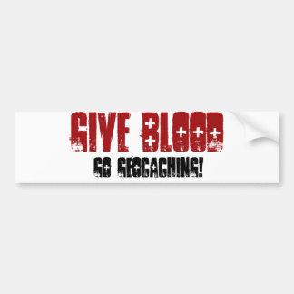 Give Blood Bumper Sticker