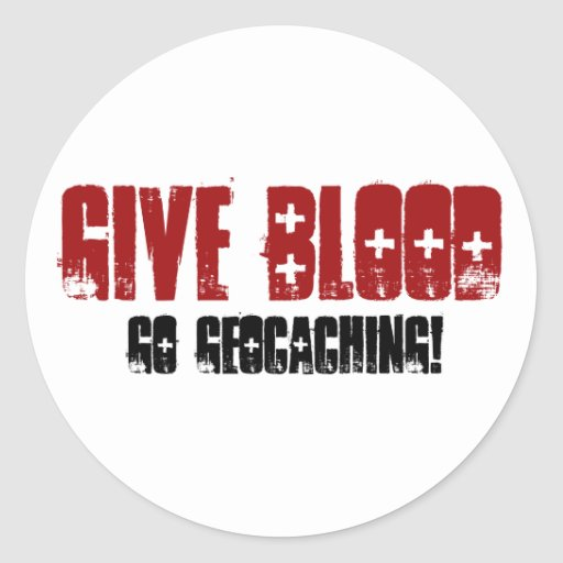 Give Blood Stickers