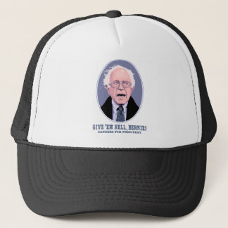 Give 'Em Hell, Bernie Trucker Hat