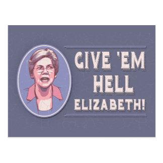 Give 'Em Hell, Elizabeth Postcard