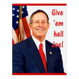 Give 'em hell Joe! Postcard