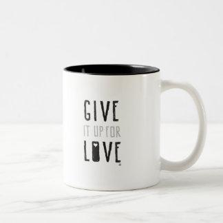 Give it up for Love (Mug) Two-Tone Coffee Mug