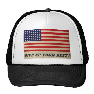 Give it your best US Flag Cap