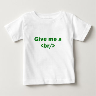Give me a <br/> shirts