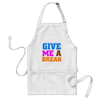 Give me a break standard apron