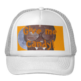 Give me Candy! Chocolate Skull Vampire Hat