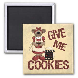 Give Me Cookies Magnet