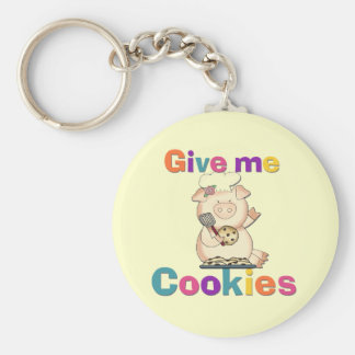 Give Me Cookies Tshirts and Gifts Keychains