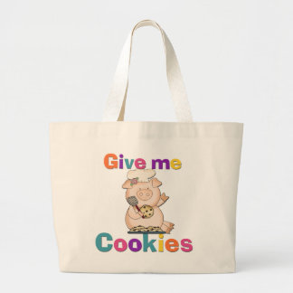 Give Me Cookies Tshirts and Gifts Canvas Bag