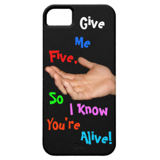 GIVE ME FIVE iphone5 case Barely There iPhone 5 Case
