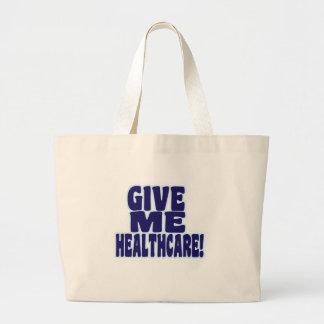 Give Me Healthcare! Jumbo Tote Bag
