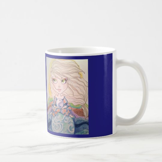 Give Me Inner Peace Fantasy Art Coffee Mug