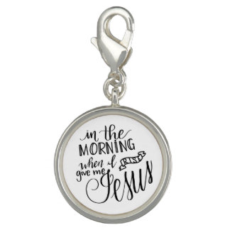 Give Me Jesus, Handlettered Clip-on Charm, Pendant