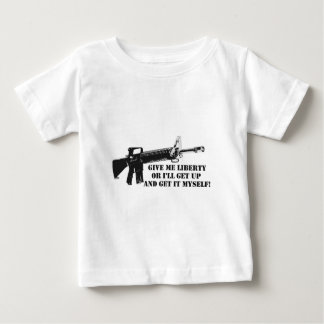 Give me Liberty A.png Baby T-Shirt