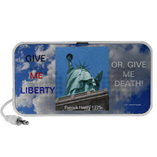 GIVE ME LIBERTY NOTEBOOK SPEAKERS