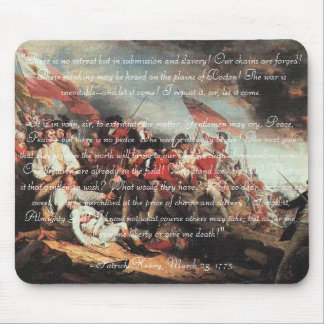 Give Me Liberty, or Give Me Death! Mouse Mat
