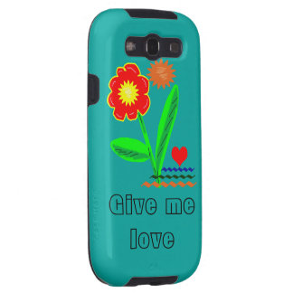 Give me love galaxy SIII case