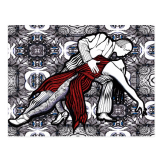 Give me Tango Postcard